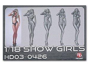 Hobby Design 1/18 Show Girl Resin figure HD03-0426