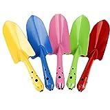 NEAER Mini Garden Tools,Metal Flowerpot Shovel,Safe Gardening Tools Trowel Shovel for Children Kids (Random color)