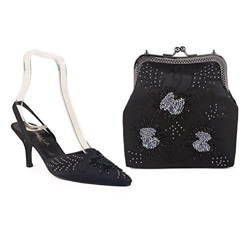 Shoes Luxury Matching And Farfalla Black Bag qUEgxBRvB