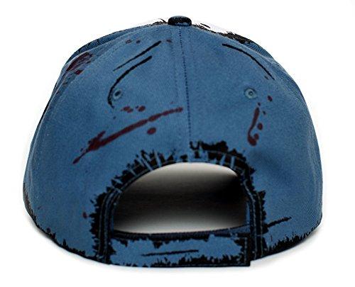 da33dbc005e5e Clementine s Custom Blood Stain   Dirt Dead Zombies Cap Hat Unisex Slate