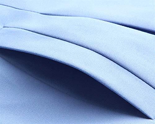 Double Prodotto Giaccone Hell Bavero Plus Casual Lunga Donna Pizzo Blau Cintura Abbigliamento Trench Slim Moda Cappotto Giacca Inclusa Fit Manica Targogo Eleganti Giuntura Outwear Breasted Classiche UwITf1ZZSq