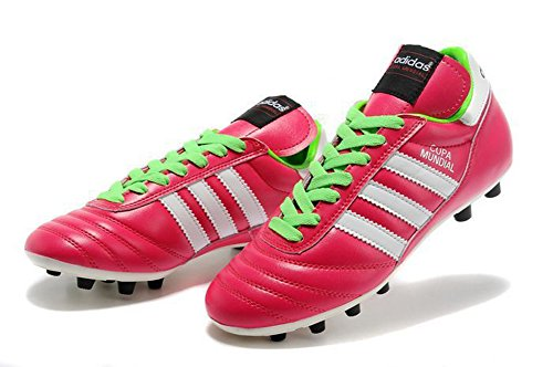 demonry zapatos para hombre copa mundial FG-Botas de fútbol de fútbol de color rosa, hombre, rosa, 42
