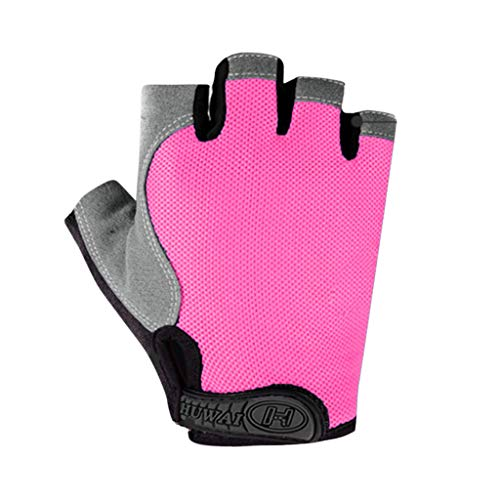 YESWOMAN Weight Lifting Glove for Training Men Women's Open Toe Wash Dry Ventilated Gloves with Built-in Wrist Wraps