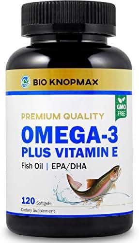 Bio KnopMax Omega 3 Fish Oil Plus Vitamin E