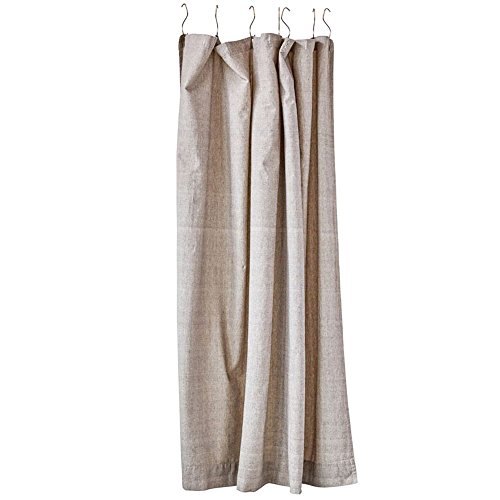 Cotton Chambray Shower Curtain
