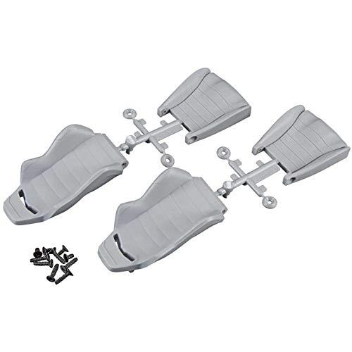 Seats Dune Buggy (Axial AX80080 Corbeau LG1 Seat (2-Piece), Grey)