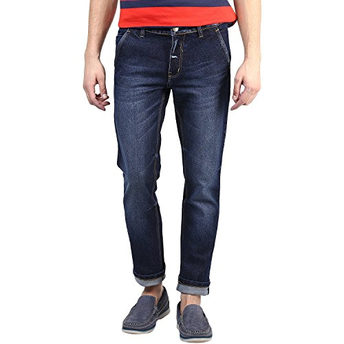 SUPER-X Men's Slim Fit Jeans