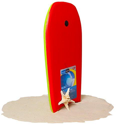"Boogie Board 33"" Fiberclad Bodyboard - Durable Fiberclad Deck with Phuzion Core and Leash - Choose Your Graphics"