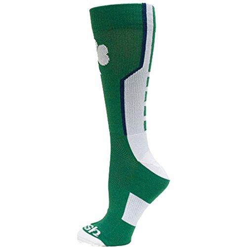 Donegal Bay NCAA Notre Dame Fighting Irish Sport Socks, Green, One Size