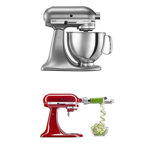 KitchenAid Artisan Series 5-Qt. Stand Mixer + Spiralizer Attachment Only $249.99 **3 Colors**