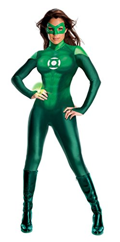 Adult size Deluxe Women's Green Lantern Costume - Small (Green Lantern Womens Costume)