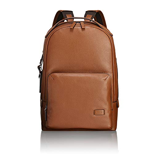 TUMI - Harrison Webster Leather Laptop Backpack - 15 Inch Computer Bag for Men and Women - Brown