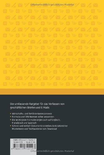 Duden Ratgeber Geschäftskorrespondenz Professionelle Briefe Und E