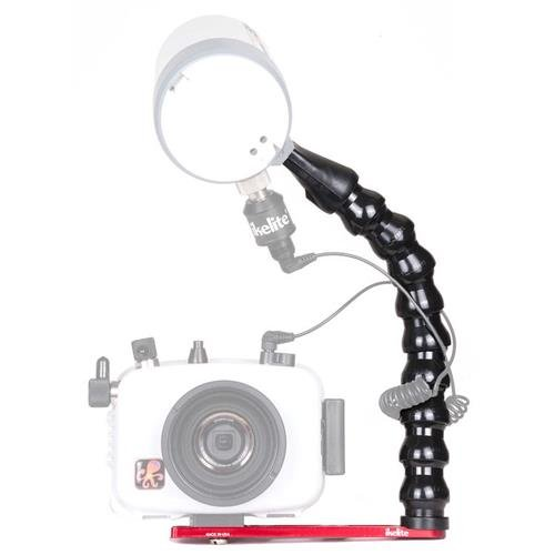(Ikelite Action Tray with DS51 Strobe Arm for Compact Underwater Housings)