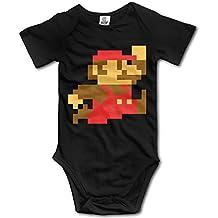 Pixel Super Mario Video Game Baby Onesie Baby Bodysuit