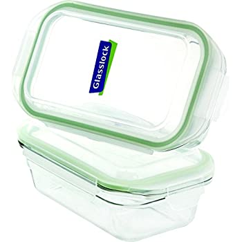 Amazon Com Glasslock Food Storage Container 8 Cup Rect