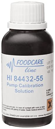 Hanna Instruments HI 84432-55 Pump Calibration Solution for HI84432