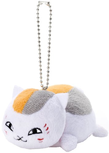 Natsumes Book of Friends Nyanko-Sensei Mascot Ball Chain (Nyanko Sensei A)