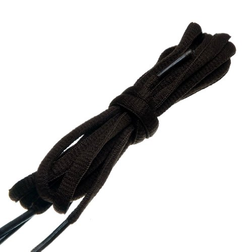 BIRCH's Oval Shoelaces 27 Colors Half Round 1/4