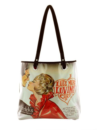 Gina Alexander 'The Osculation' Everything Tote Bag Vintage Frederick's of Hollywood Image