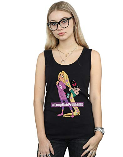 And Wreck Noir 2 Ralph Rapunzel Top Tank Femme It Vanellope Disney 6ZCYqY