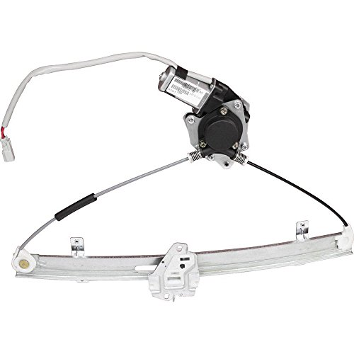 MILLION PARTS Front Right Side Power Window Regulator with Motor for 2001 2002 2003 2004 2005 Honda Civic Sedan 4-Door