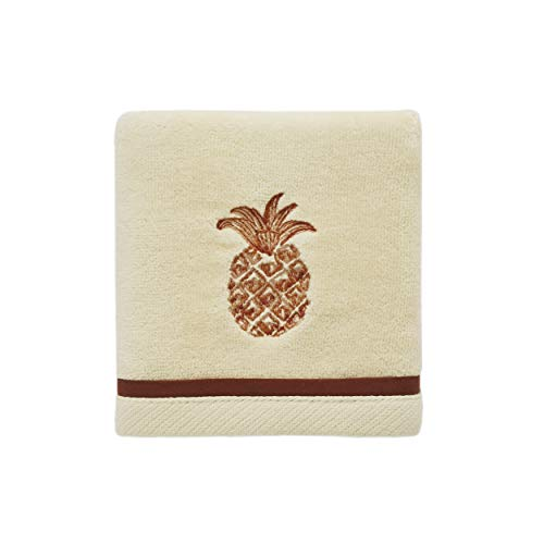 Tommy Bahama Batik Pineapple Fingertip Towel, Orange