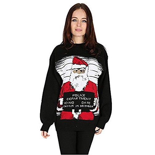 ROCKBERRY - Jerséi - para mujer Bad Santa
