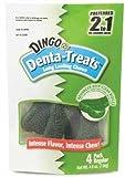 Dingo Denta-Treats Regular Long-Lasting Chews, 4-Pack, 3-1/2-Inch, 4.8-Ounce, My Pet Supplies