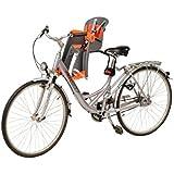 Cadeirinha Dianteira Para Bicicleta Polisport Bilby Jr Ff Cinza e Prata - Fixacao No Quadro