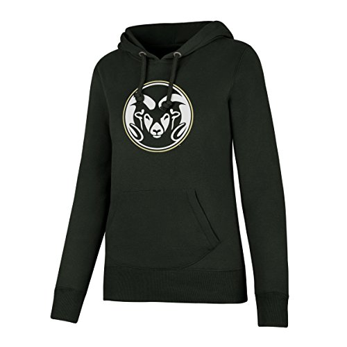 (NCAA Colorado State Rams Women's Ots Fleece Hoodie, Medium, Dark)