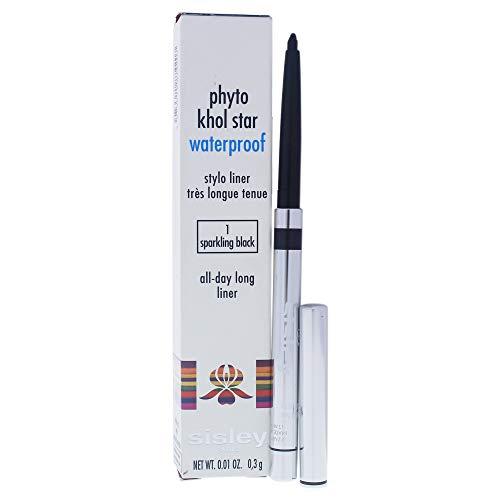 (Sisley Phyto Khol Star Waterproof - 01 Sparkling Black By Sisley for Women - 0.01 Oz Eyeliner, 0.10 Oz)