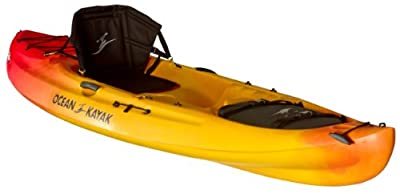 Ocean Kayak 11-Feet Caper Classic Recreational Sit-On-Top Kayak