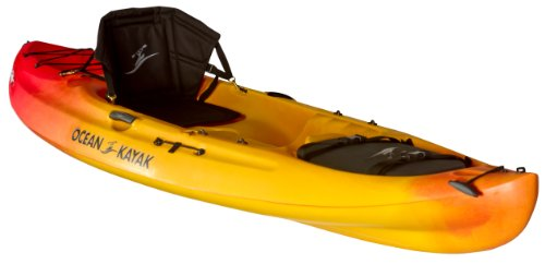 Ocean Kayak Caper Classic Recreational Sit-On-Top Kayak, Sunrise