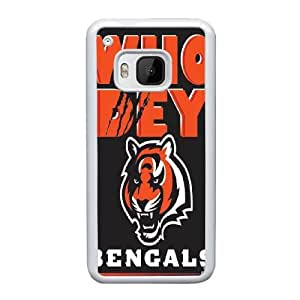 HTC One M9 Cell Phone Case White Cincinnati Bengals AS7YD3576547