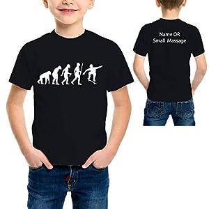 MGEAR Evolution of Skateboarding Funny Boys T Shirt T-Shirt Customised Text Printed tee Birthday Present