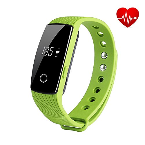 Fitness Tracker, REDGO Heart Rate Monitor Remote Camera C...