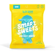 SmartSweets Sour Blast Buddies 1.8 Ounce (Pack of 12), Candy With Low-Sugar (3g) & Low Calorie (80)- Free of Sugar Alcohols & No Artificial Sweeteners, Sweetened With Stevia