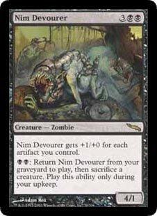 Nim Devourer (Magic the Gathering : Mirrodin #70 Rare)