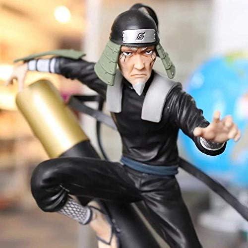UanPlee-SC Geschenk Naruto Shippuden: GK Sarutobi Hiruzen PVC Modell Statue - Hoch 27CM