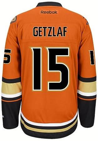 20c1687f5 Ryan Getzlaf Anaheim Ducks Reebok Premier Third Jersey NHL Replica ...