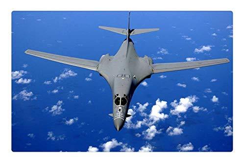 Tree26 Indoor Floor Rug/Mat (23.6 x 15.7 Inch) - Supersonic Fighter Fighter Jet Supersonic Bomber