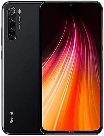Amazon Com Xiaomi Redmi Note 8 64gb 4gb 6 3 Display Snapdragon 665 48mp Quad Camera Dual Sim Gsm Factory Unlocked Us Global 4g Lte International Version Space Black 64gb Case Bundle Electronics