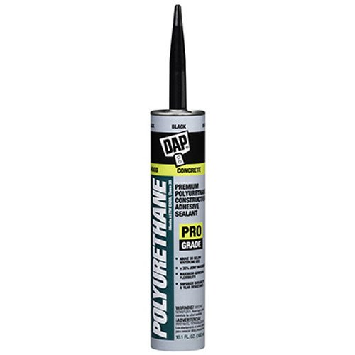 Dap 18816 Polyurethane Construction Adhesive and Sealant, 10.1 oz by DAP
