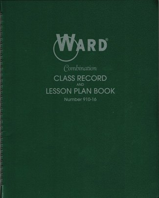 WAR91016 - CLASS RECORD LESSON PLAN COMBO
