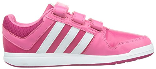 Adidas Junior Kinder Trainings Lk Trainer 6 Cf K Bopink/ftwwht/sesopk, Größe Adidas:4