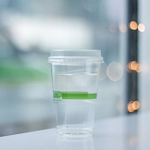 9 oz | Compostable & Biodegradable Plastic Cold Cups | 2,000 count by World Centric (Image #3)
