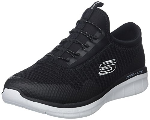 Sneaker white Wide Image Us W mirror Skechers Women's Synergy 0 2 Black Fashion 8 Sport YxqqUwP0z