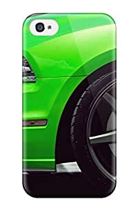 Tpu Shockproof Scratcheproof Green Shelby Mustang Vehicles Automotive Boss Cars Ford Hard Case Cover For Iphone 4/4s