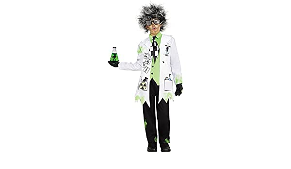 Fun World Disfraz de científico Malvado niños - Incluye Abrigo de ...
